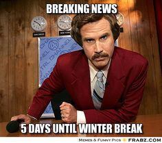 Breaking News... - Anchorman Meme - Give your friends a smile and share this.