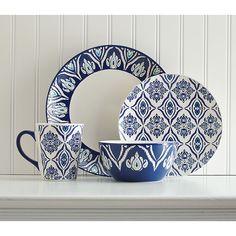 Birch Lane Candice 16-Piece Dinnerware Set  Need Kitchen Decorating Ideas? Go to Centophobe.com | #Kitchen #kitchen decorating ideas