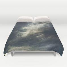 Cloudio di porno II Duvet Cover by HappyMelvin | Society6