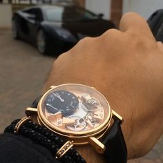 🎥 Out for the day in the Aventador with #MyBuddyAli - ⌚️🔥 #TBT - #StingHD #B452 x Breguet La Tradition - www.StingHD.com -
