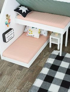 42 Ideas For Barbie Furniture Diy Popsicle Sticks Doll Houses Barbie House Furniture, Doll Furniture, Furniture Ideas, Bedroom Furniture, Cheap Furniture, Furniture Vintage, Furniture Companies, Furniture Stores, Wooden Furniture