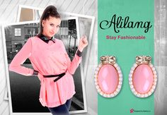 Pretty in pink with Alilang.   You can win a gift card up to $250.00 for Alilang just by entering your favorite outfit or picture at http://modera.co/profiles/Alilang