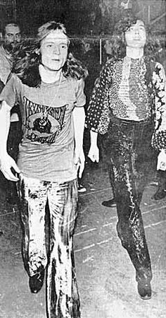 John Paul Jones and Jimmy Page