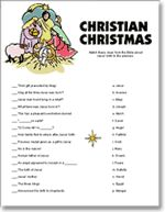 Religious christmas games for adults