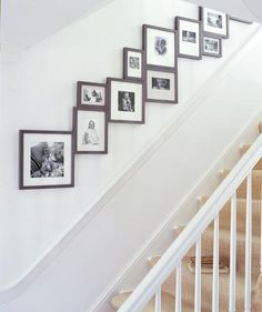 And Along a Staircase | Over the years, Real Simple has shared dozens of décor tricks. Readers particularly loved these.