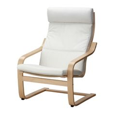 PoÄng Chair, Birch Veneer, Alme Black