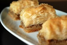 This is a recipe worth trying - I prefer it to Greek Baklava too