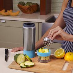 Mixt Euch Euer eigenes #Getränk mit frischen Früchten: Mit dem Zing Anything #AquaZinger