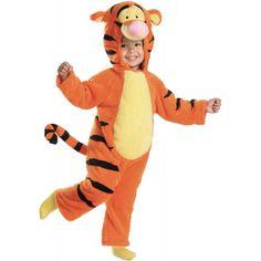 Deluxe Tigger Costume  Toddler Medium
