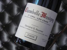"Morey-Saint-Denis ""Les Cras"" 1er Cru 2008. Domaine G. Roumier. Vin rouge de Bourgogne  #1ercru #wine #winelover"