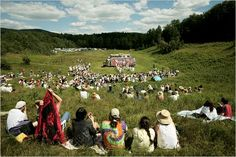 The Bread and Puppet Theater, active since the 1960s, is based in Glover.  #vermont  #splendidsummer