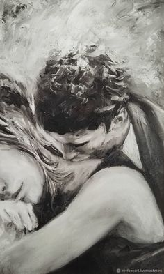 Couple drawings images for loving couple - page 4 of 4 - disqora art in 201 Couple Drawing Images, Couple Drawings, Love Drawings, Art Drawings, Image Couple, Couple Art, Painting Love Couple, Art Amour, Kiss Art