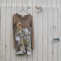 xsmall - small  Day Dress / Funky Dress / Eco Dress / upcycled dress by CreoleSha