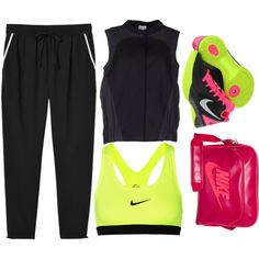 Untitled #9 by phantom0308 on Polyvore featuring RDM by Rue du Mail, Monki and NIKE