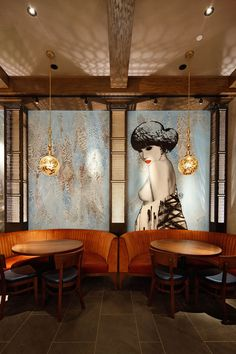 Labyrinthine Lower East Side restaurant embodies the changing fortunes of global street artists...