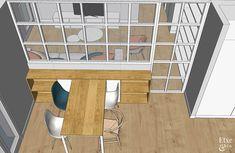 Luz y oxígeno Architect Design House, House Design, Ideas Hogar, Kitchen Room Design, Temporary Wall, Future House, Sweet Home, Layout, Architecture