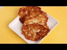 Homemade Hash Browns Recipe - Laura Vitale.  To get this complete recipe with instructions and measurements, check out my website: http://www.LauraintheKitchen.com