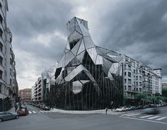 Basque Health Department Headquarters in Bilbao - designed by Coll-Barreu architects, 2003-2008 - photo Aleix Bagué
