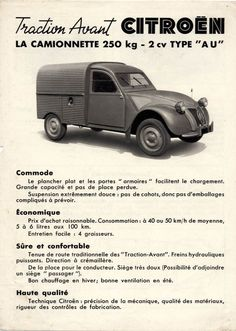 AUTO 2 CV.....1951....YAHOO IMAGES.....