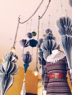 Anthropologie's Pleated Ornaments