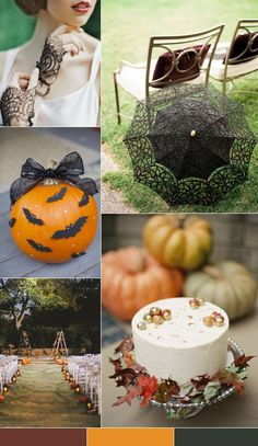Mood Board de bodas inspirado en Halloween  Collage, Wedding Mood Board, Table Decorations, Home Decor, Halloween Night, Wedding Inspiration, Pallets, Report Cards, Colors