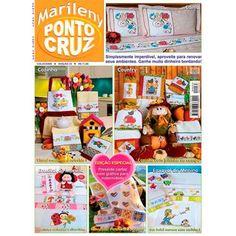 Revista Marileny Ponto Cruz 33 / Magazine Marileny Cross Stitch 33 visit www.marileny.net