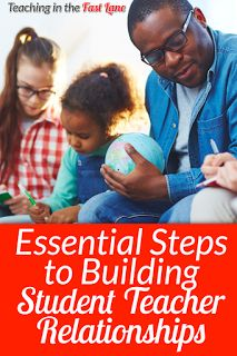 Are you struggling to build relationships with your students? Check out these essential tips for building relationships that last! Student Teacher, Teacher Blogs, Teacher Hacks, Elementary Teacher, Best Teacher, Elementary Schools, Upper Elementary, Teacher Resources, Classroom Routines