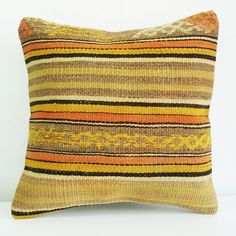 Yellow Sukan Pillow ETSY