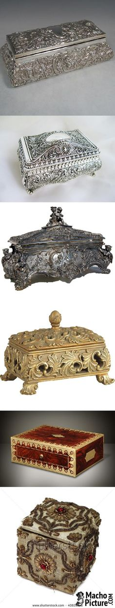 Antique jewellery box - 7 PHOTO!
