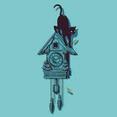 El artista Chow Hon Lam, también conocido como Flying Mouse 365, realizó una serie de hermosas y divertidas ilustraciones en las que muestra la vida secreta de los gatos. Después de todo, los gatos son adorables y también muy misteriosos. Conoce más sobre este artista aquí.