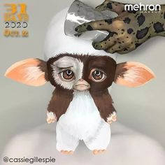 """October 22nd finalist @cassiegillespie Artist Inspo: """"I always loved the movie Gremlins and wanted to have a Gizmo he's so cute."""" Products used: Paradise Makeup AQ 30 Color Palette Thanks to our friends at @MehronMakeup #mehronmakeup #mehron #halloween #halloweenmakeup #gremlins #gizmo #gizmomakeup #gremlinsmakeup #mogwai #mogwaimakeup #charactermakeup #bodypainting #creativemakeup #dontfeedaftermidnight Mehron Makeup, Character Makeup, Professional Makeup, Halloween Make Up, Illusions, Gremlins Gizmo, Makeup Looks, Owl, 31 Days"""