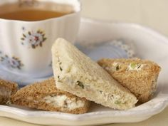 Walnut Tea Sandwiches inspired by Jane Eyre | KitchenDaily.com