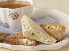 Walnut Tea Sandwiches inspired by Jane Eyre | KitchenDaily.com