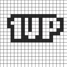 1UP bead pattern