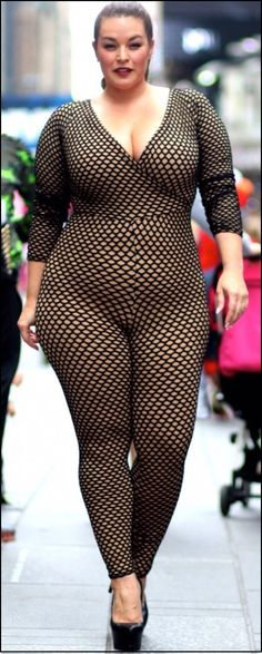 OK, I'm a sucker for this hot form-fitting body stocking look.