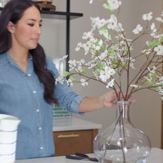 Arranging flowers is easier than you think. Joanna shares her tips and tricks using new pieces from the Hearth & Hand with Magnolia collection, only at Target.
