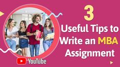 Struggling with your #MBA #assignment #writing task? You don't have to anymore. The tips presented to you in this video will help you write a perfect MBA assignment.