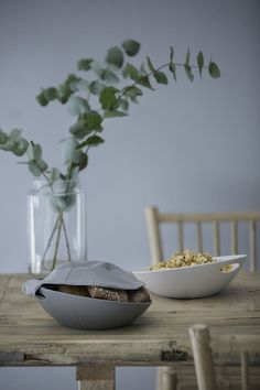 INTERIØRTIPS Rosendahl Grand Cru melamin brødkurv med tekstillokk ©PHOTO: Rosendahl