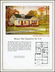 https://flic.kr/p/HPPcGX | Morgan House Plan Suggestions::Building with Assurance | Building with Assurance - 1923 www.antiquehome.org