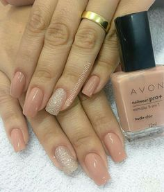 Unhas de hoje é da Nailwear Pro - Nude Chic Créditos para: . Classy Nails, Stylish Nails, Simple Nails, Perfect Nails, Gorgeous Nails, Pretty Nails, Colorful Nail Designs, Nail Art Designs, Pedicure Designs