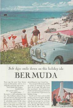 Vintage 1957 Bermuda Tourism Print Advertisement  http://www.zazzle.co.uk/diddydeldesigns/bermuda?q=bermuda