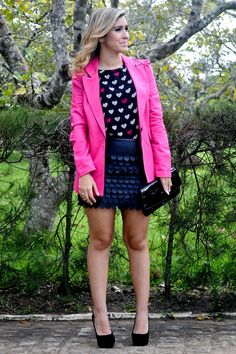 blazer rosa - Pesquisa Google Blazer Shirt, Jackets, Shirts, Women, Style, Fashion, Pink, Down Jackets, Swag