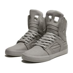 SUPRA SKYTOP II Shoe | GREY - GREY | Official SUPRA Footwear Site