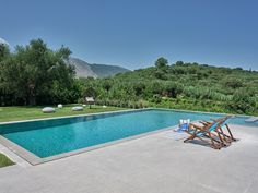 The beautiful, relaxing environment of Drallos Luxury Villa, in Zakynthos island (Zante) Greece Holiday Accommodation, Luxury Villa, Evergreen, Swimming Pools, Greece, Environment, Relax, Island, Outdoor Decor