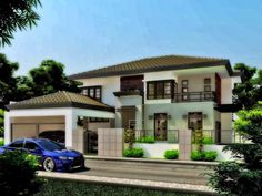 Dream House Design Simple Two Story