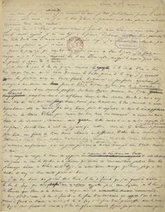 Lettre d'amour de Victor Hugo à Adèle Foucher : «Cesser de te voir serait me condamner à mort.»Lettre de Victor Hugo
