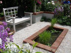 Garden water features