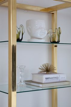Gold shelving: http://www.stylemepretty.com/living/2015/04/22/15-gleaming-gold-accents/