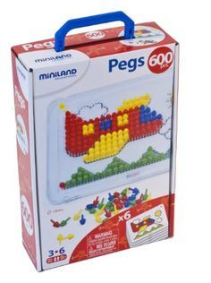 The Miniland Peg Set is a classic toy that develops eye-hand coordination, creativity, spatial orientation and color recognition. Classic Toys, Facial Tissue, Base, Creative, Licence Plates, Briefcases, Note Cards, Stencils, Mosaics