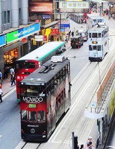 Hong Kong's iconic Ding Ding Tram